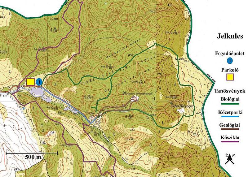 ipolytarnóc térkép Ipolytarnóc Prírodná rezervácia pravekých pozostatkov   Galéria ipolytarnóc térkép